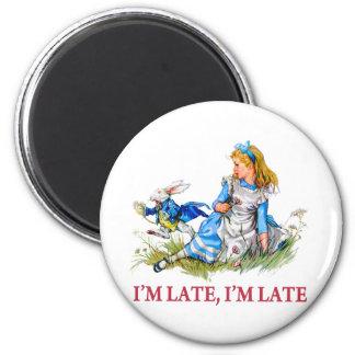 ¡Soy atrasado, yo soy atrasado por una fecha muy i Iman Para Frigorífico