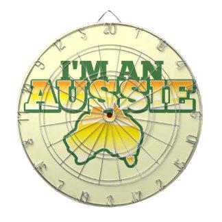 ¡Soy Aussie! Tablero Dardos