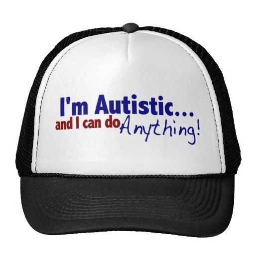 Soy autístico gorro de camionero
