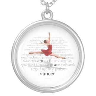 Soy bailarín colgante redondo