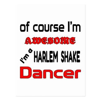 Soy bailarín de la sacudida de Harlem Tarjetas Postales