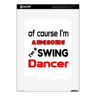 Soy bailarín del oscilación iPad 3 skins