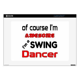 Soy bailarín del oscilación skins para portátil