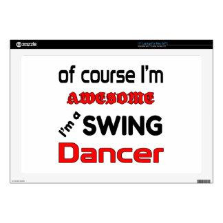 Soy bailarín del oscilación skins para portátiles