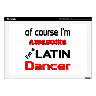 Soy bailarín latino calcomanías para portátiles