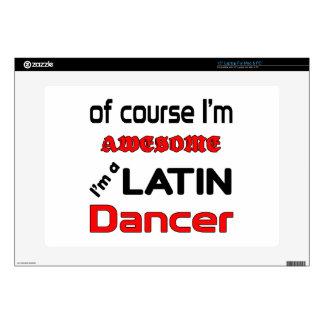Soy bailarín latino skins para 38,1cm portátil