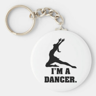 Soy bailarín llavero redondo tipo pin