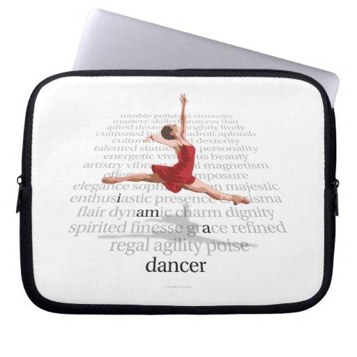 Soy bailarín mangas computadora