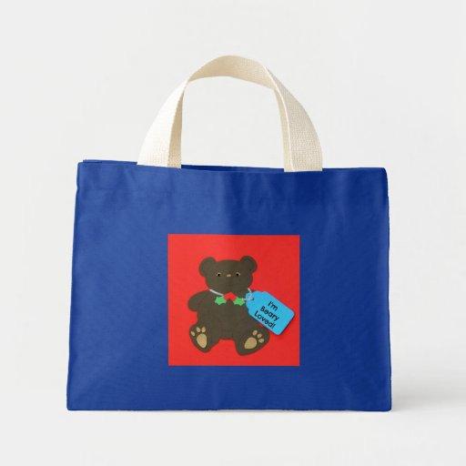 ¡Soy Beary amado! (para los niños) Bolsas De Mano