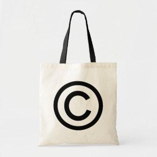 Soy bolso con derechos de autor de la lona bolsas