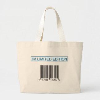 Soy bolso del código de barras de la edición limit bolsas