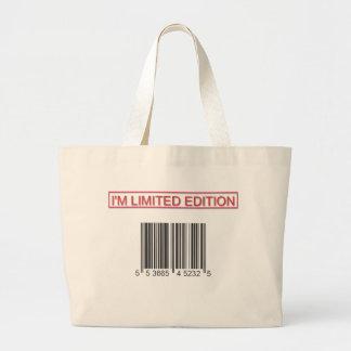 Soy bolso del código de barras de la edición limit bolsas de mano