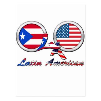 Soy Boricua latinoamericano Tarjeta Postal