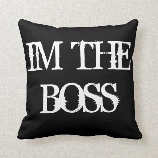 Soy Boss Cojines