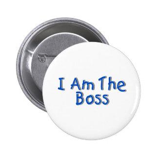 Soy Boss Pin Redondo 5 Cm