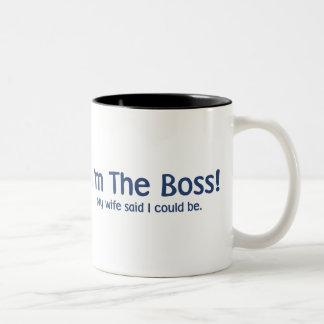 Soy Boss que mi esposa dijo tan Taza
