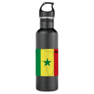 """Soy botella de agua de África"" Senegal"