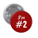 Soy botón clásico del servicio de atención al clie pin