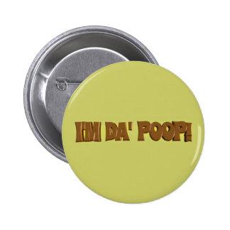 Soy botón del IMPULSO de DA Pin Redondo De 2 Pulgadas