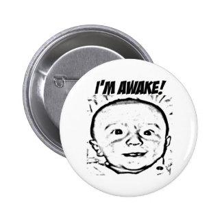 Soy botón despierto pins