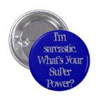 Soy botón sarcástico pins