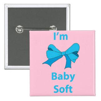 Soy botón suave del bebé