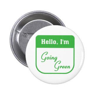 Soy botón verde que va pins