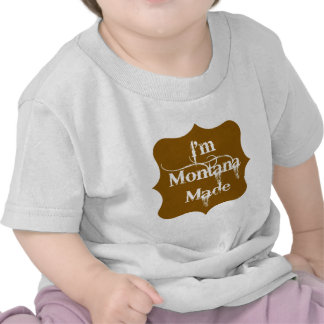 Soy Brown hecho Montana Camisetas