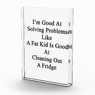 Soy bueno en solucionar problemas como un niño
