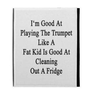 Soy bueno en tocar la trompeta como es un niño