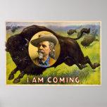 Soy - Buffalo Bill Cody - anuncio del vintage que  Poster