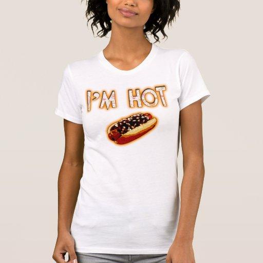 Soy caliente camisetas