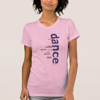 Soy camisa de las camisetas sin mangas de la danza