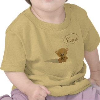 Soy camisa rellena del oso de peluche