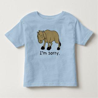 Soy camisa triste gritadora triste de los niños