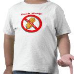 Soy camiseta alérgica de la alergia del cacahuete