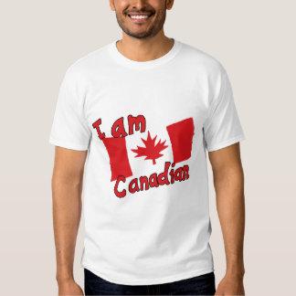 Soy camiseta canadiense camisas
