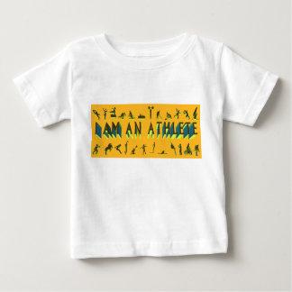 """""""Soy camiseta de los deportes de un bebé del Poleras"""