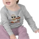 Soy camiseta divertida del bebé de Kewl