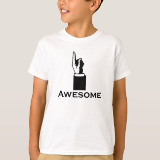 Soy camiseta impresionante de los niños camisas