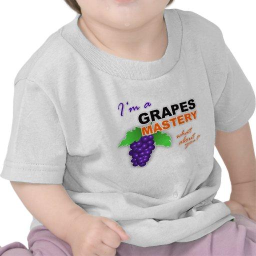 """""""Soy camiseta infantil de una maestría de las uvas"""