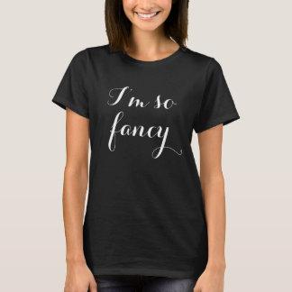 Soy camiseta tan de lujo