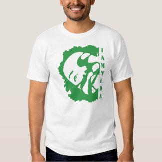 soy camiseta verde de la NEDA Poleras