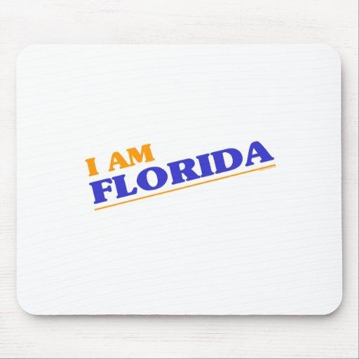 Soy camisetas de la Florida Alfombrillas De Raton