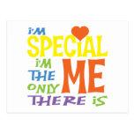 Soy camisetas de los niños del Special Tarjeta Postal