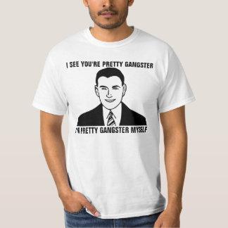 Soy camisetas divertidas del muchacho blanco