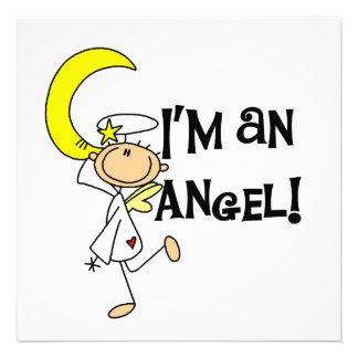 Soy camisetas y regalos de un ángel anuncio personalizado