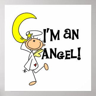 Soy camisetas y regalos de un ángel impresiones