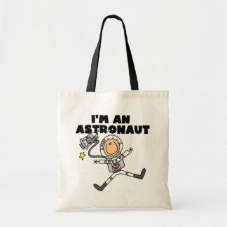 Soy camisetas y regalos de un astronauta bolsa de mano