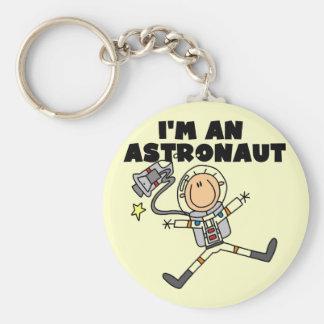 Soy camisetas y regalos de un astronauta llavero redondo tipo pin
